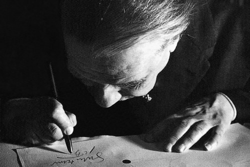 Jorge Luis Borges | Foto: Alicia D'Amico
