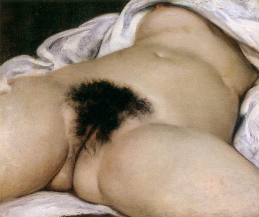 A tela de Gustave Courbet