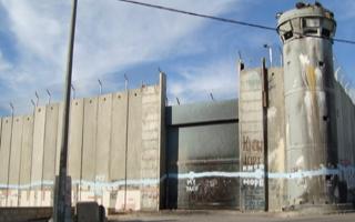 Muro de Israel, em Belém | Foto: Adriana Mabilia