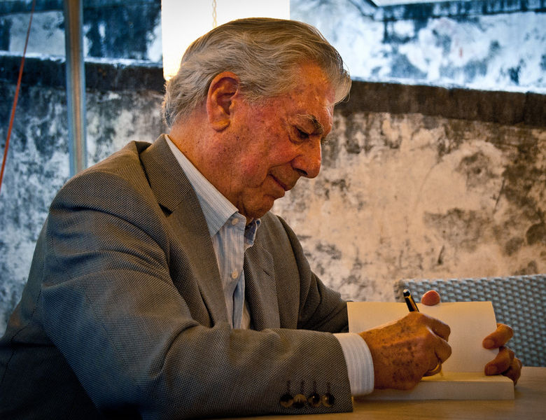 Mario Vargas Llosa em 2010