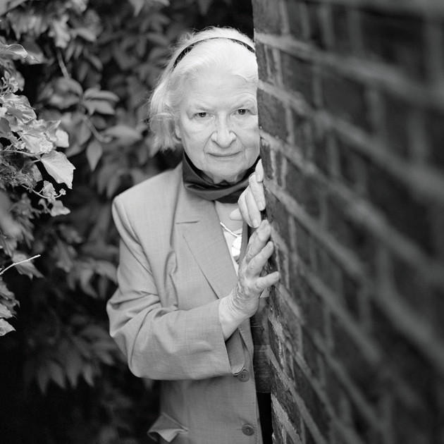 A escritora P.D. James | Foto: David Harrison/ Newscom