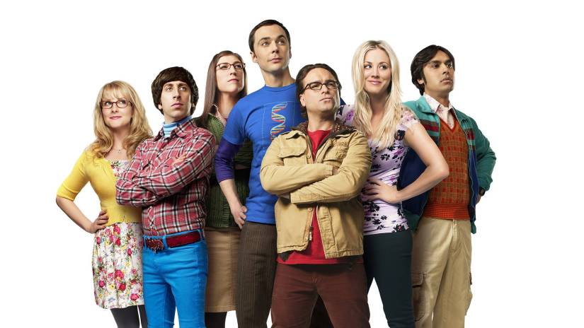 "O elenco de ""Big Bang Theory"""