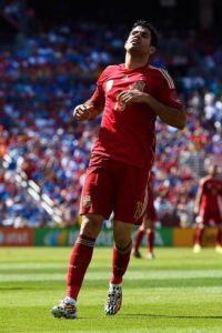 O atacante Diego Costa