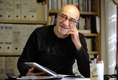O escritor espanhol Antonio Altarriba | Foto: Pradip J. Phanse