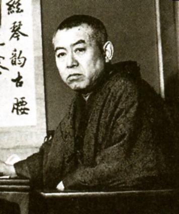 O escritor japonês Junichiro Tanizaki