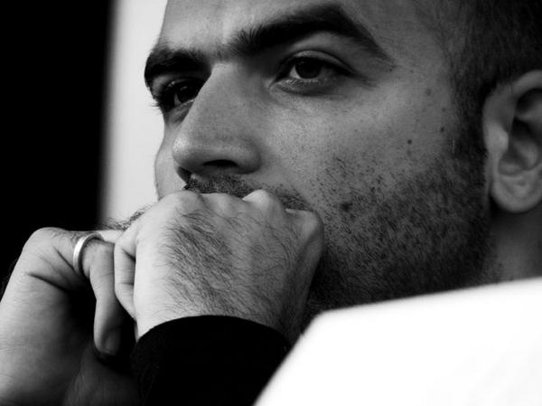 O jornalista italiano Roberto Saviano
