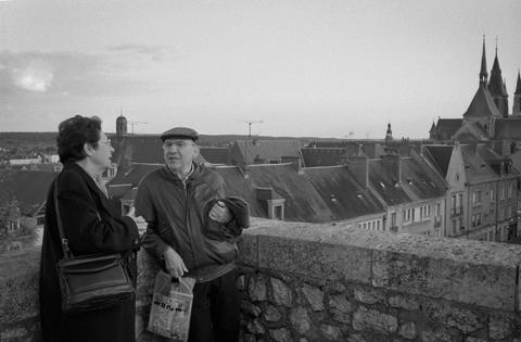 Boris Fausto e sua mulher, Cynira