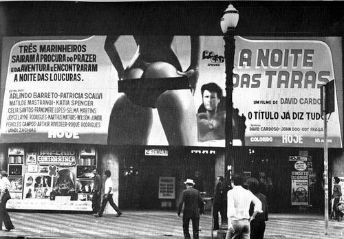 """Cinema de São Paulo exibe """"A Noite das Taras"""", filme produzido na Boca do Lixo"""