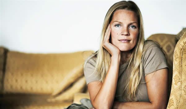 A escritora Asne Seierstad
