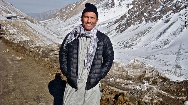 Carl Hoffman no norte do Afeganistão | Foto: Arquivo pessoal