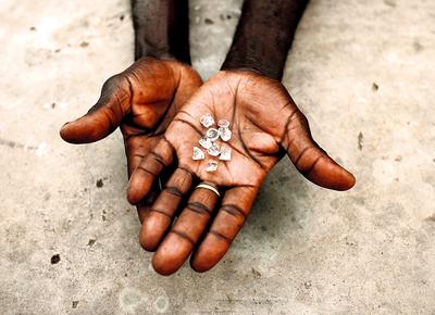 Diamantes de Angola   Foto: Goran Tomasevic/Reuters