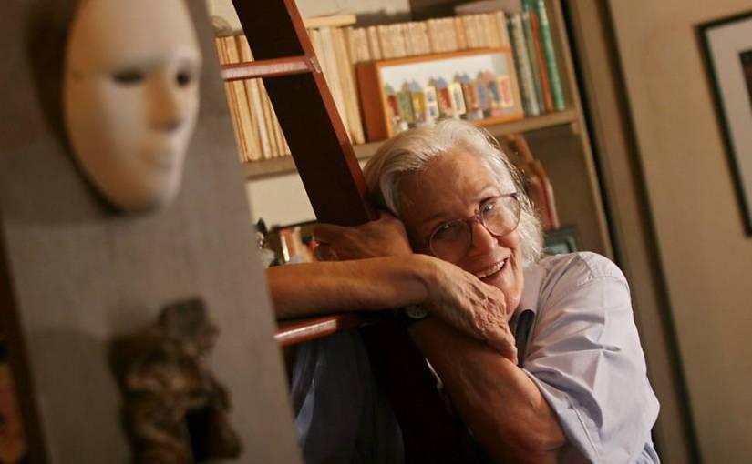 A crítica teatral e tradutora Barbara Heliodora | Foto: Ricardo Moraes/Folhapress