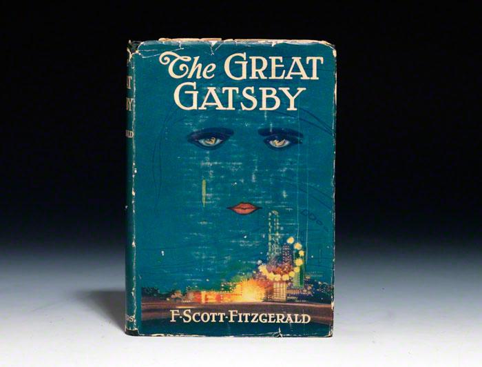 """A primeira edição de """"O Grande Gatsby"""""""