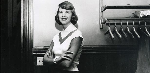 A poeta Sylvia Plath
