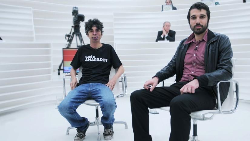 """Pablo Capilé e Bruno Torturra no """"Roda Viva"""""""