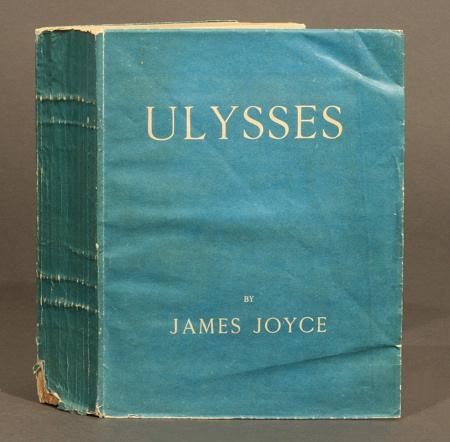 """A primeira edição de """"Ulysses"""", publicada pela Shakespeare and Co."""