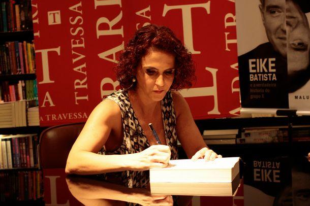 A jornalista Malu Gaspar | Foto: Ale Silva/Jornal do Brasil