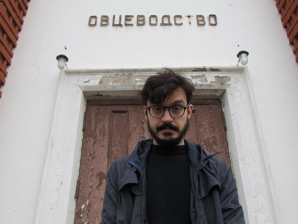 O escritor e pesquisador Mariano Marovatto