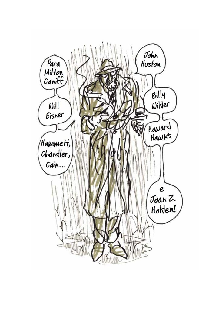 """A ilustração de abertura de """"Mate Minha Mãe"""""""