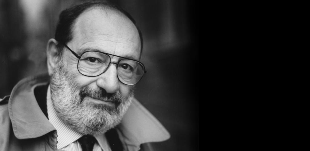 O escritor Umberto Eco (1932-2016)