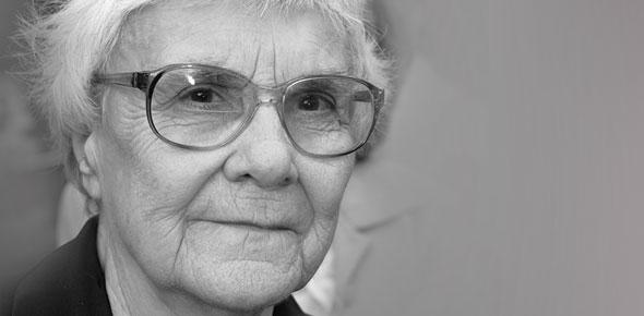 A escritora Harper Lee (1926-2016)