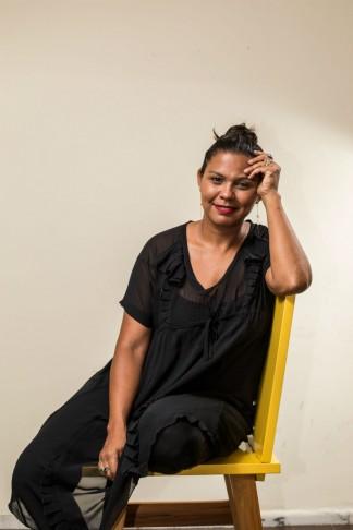 A jornalista Fabiana Moraes