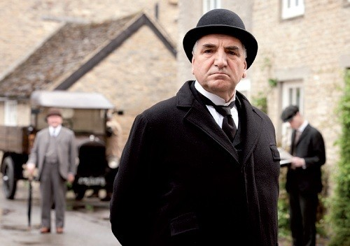 "O mordomo de ""Downton Abbey"", Carson"