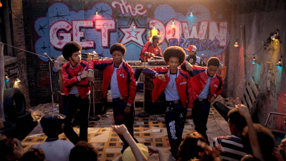 "Cena de série ""The Get Down"""