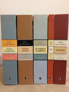 Os cinco livros da Obra Jornalística de Gabo